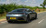 Aston Martin DB11 UK first drive rear