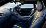 Aston Martin DB11 UK first drive cabin