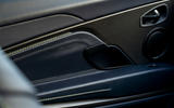 Aston Martin DB11 UK first drive door panels