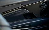 Aston Martin DB11 UK first drive door panels