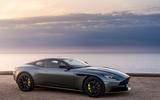 Aston Martin DB11 UK first drive sunset side