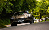 Aston Martin DB11 cornering