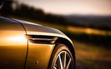 Aston Martin DB11 front wheel arch