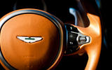 Aston Martin DB11 steering wheel