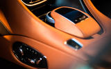 Aston Martin DB11 seat controls