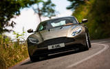 Aston Martin DB11 on Italian roads