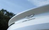 Aston Martin DB11 V8 badging