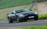 Aston Martin DB11 V8 cornering