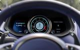 Aston Martin DB11 V8 instrument cluster