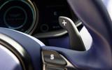 Aston Martin DB11 V8 paddles shifters