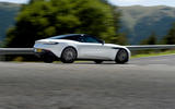 Aston Martin DB11 V8 rear cornering