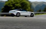 Aston Martin DB11 V8 rear cornering