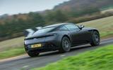 Aston Martin DB11 V8 rear quarter