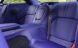Aston Martin DB11 V8 rear seats