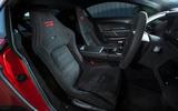 Aston Martin Vantage GT8 seats