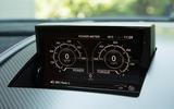 Aston Martin Vantage GT8 infotainment