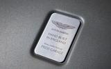 Aston Martin quality control plaque