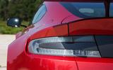 Aston Martin Vantage GT8 rear lights