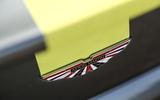 Aston Martin V8 Vantage AMR boot badge