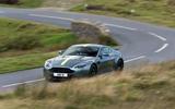 Aston Martin V8 Vantage AMR cornering
