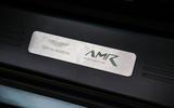 Aston Martin V8 Vantage AMR plaque