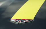 Aston Martin V8 Vantage AMR Union Jack badge