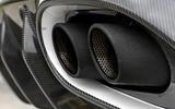Aston Martin Vanquish S quad exhaust system