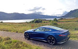 Aston Martin Vanquish S in the highlands