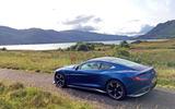 Aston Martin Vanquish S in the highlands