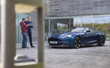 Talking about the Aston Martin Vanquish S