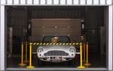 Aston Martin Works electric DB6 Volante - parked