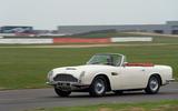 Aston Martin Works electric DB6 Volante - driving