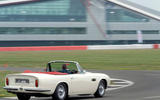 Aston Martin Works electric DB6 Volante - cornering