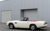 Aston Martin Works electric DB6 Volante - side