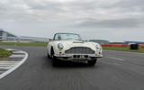 Aston Martin Works electric DB6 Volante - front