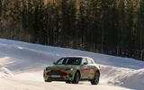 Aston Martin DBX winter testing
