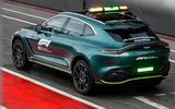 Aston Martin DBX Official Medical Car of Formula One 02
