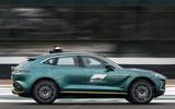 Aston Martin DBX Official Medical Car of Formula One 03