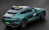 Aston Martin DBX Official Medical Car of Formula One 05