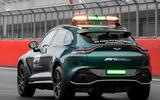 Aston Martin DBX Official Medical Car of Formula One 11