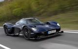Aston Martin Valkyrie road testing front side