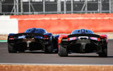 Aston Martin Valkyrie driven by Red Bull F1 drivers - rear
