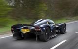 Aston Martin Valkyrie road testing rear