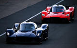 Aston Martin Valkyrie driven by Red Bull F1 drivers - twin