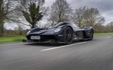 Aston Martin Valkyrie road testing side low