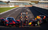 Aston Martin Valkyrie driven by Red Bull F1 drivers - static