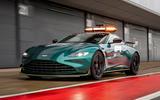 Aston Martin Vantage Official Safety Car of Formula One 01