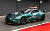 Aston Martin Vantage Official Safety Car of Formula One 12