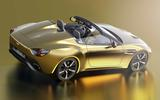 Aston Martin Vantage V12 Zagato Heritage Speedster rear