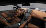 Aston Martin Vantage V12 Zagato Heritage Twins interior